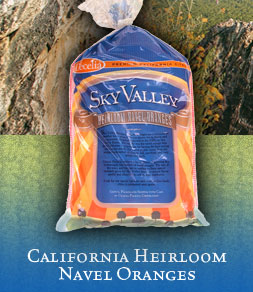 California Heirloom Navel Oranges